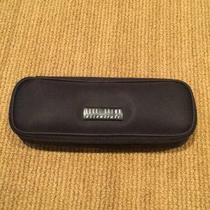 Bobbi Brown black nylon cosmetic case